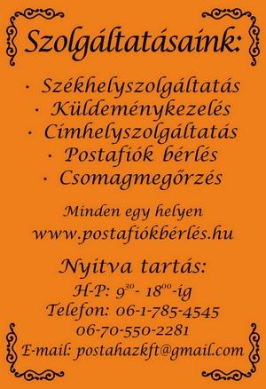 Postafiokberles - 56 kb